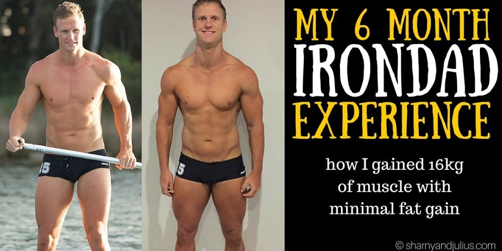 how I gained 16kg of muscle in 6 months with minimal fat gain